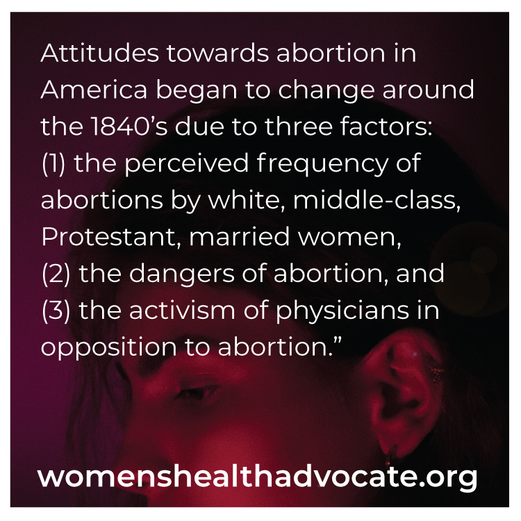 women's health - history of abortion